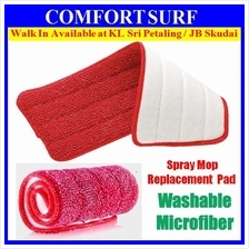 Washable Microfiber Replacement for Spray Mop