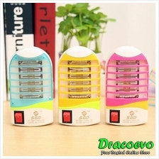 Mini Mosquito Insect Killer LED Lamp Photocatalyst Repellent Free Gift