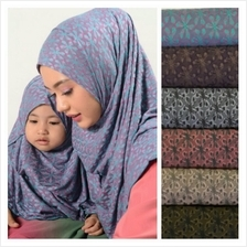 Instant Tudung Hijab Shawl Mother + Daughter Series - Mikayla