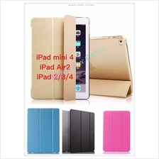 Apple iPad Air Mini 2 3 4 5 6 Smart Cover Leather Pouch Case Casing