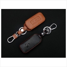Mitsubishi Lancer ASX Triton SmartEntry Remote Leather Key Cover Case
