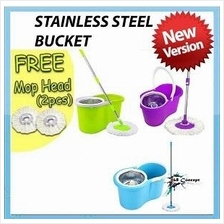 360 Degree Spin Magic Mop with Dryer Cleaner Bucket