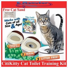 Cat Toilet Training Kit by CitiKitty - AS005 As seen on TV
