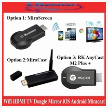 ezCast M2 / MiraScreen TV Dongle Wifi HDMI Dongle Mirror iOS Android