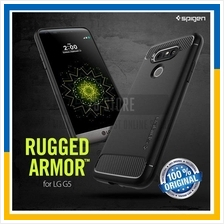 Original Spigen SGP LG G5 Rugged Armor Cover Case Carbon Fiber Texture
