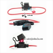 Inline 16AWG Fuse Holder (Water Proof) Car Auto 30cm Free 20A ATC/ ATO blade f