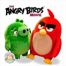 2016 Angry Birds Movie Soft Plush Toy Doll - Red Chuck Bomb Leonard