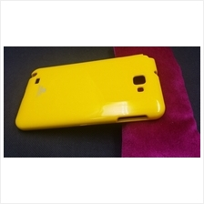 Mercury Color Jelly Samsung Galaxy Note Soft Back Case Cover Casing (Yellow)