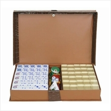 A1 SIZE MALAYSIA MAHJONG RUMMY FULLSET CRYSTAL/COLOR with PVC Case