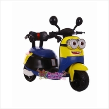 Minion Style electric Tricycle Scooter Ride on Toy for Kids - BTC-19