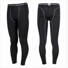Pro Compression Slim Fit Long Pants Seluar Panjang Gym(Import & HIGH Q