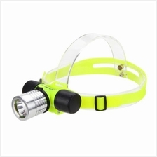200lm Cree Led Scuba Diving Headlamp Underwater Snorkeling Flashlight