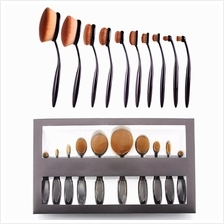 Foundation Contouring Bronzing Makeup Brushes 10 Piece Set Makeup Tool