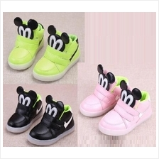 Kids, Children Mickey Mouse Shoes Kasut Budak Baby