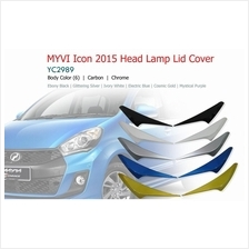 Perodua Myvi Icon Head Lamp Lid Cover Eye Lid With PAINTED