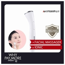 Kingdom 9050 Beauty Facial Massager Vibration Ion Remove Toxins Skin