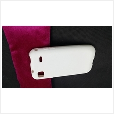 Samsung Galaxy S i9000 TPU Silicone Jelly Soft Back Case Cover Casing (White)
