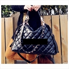 MT008203 Korean Women Lingge Fold Bubble Shoulder Diagonal Handbag