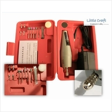 LS-100 Mini Drill / Grinder / Engraving Set for DIY Projects