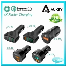 [Qualcomm Certifed] Aukey 4x Faster Quick Charge 3.0 Car Charger All