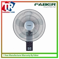 Faber 16 Remote 5 Blade Wall Fan With Strong Wind  & Remote Control - FWF TORN