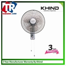 "Khind 16"" Wall Fan WF1602 with 2 String  & 3 Years Warranty on Motor"