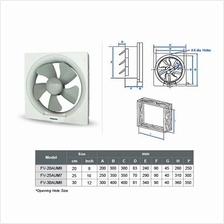 Panasonic 8inch Ventilating Fan Wall Type Energy-saving high performance motor