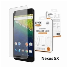 Orzly Premium Tempered Glass Screen Protector for LG Nexus 5X