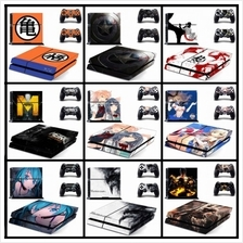 PS4 CONSOLE AND DUALSHOCK 4 CONTROLLER SKIN/STICKER SET