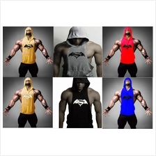 Gym Singlet Hoodie Combo Shirt baju ( Baju Gym Sport) (high quality)