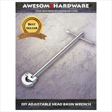 DIY ADJUSTABLE HEAD BASIN WRENCH FLEXIBLE WRENCH BASIN TAP SPANNER