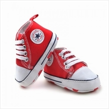 KID'S CANVAS SHOE-RED)