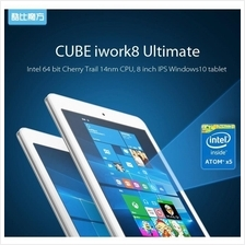 RayaSale! Cube Iwork8 Ultimate Intel X5 HD IPS 32G2G Dual OS tablet PC