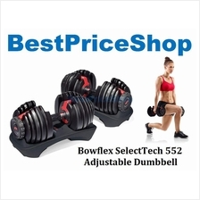 Bowflex SelectTech 552 / 1090 Adjustable Dumbbell Weighlifting Fitness