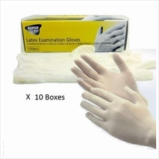 [SET of 10] KLEEN SURGICAL LATEX GLOVES 100s