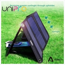 AUKEY 21W Outdoor Solar Panel charger Dual USB Port for Apple iPhone Samsung P
