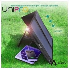 AUKEY 14W Outdoor Solar Panel charger Dual USB Port for Apple iPhone Samsung P