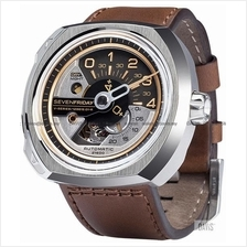 SEVENFRIDAY V2-1 Automatic 120� Additioner Disc NFC Leather Brown