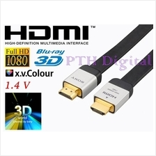 SONY HDMI GOLD PLATED 3D v.1.4 HDMI CABLE ( 2 meter) HD TV PS3 XBO X36