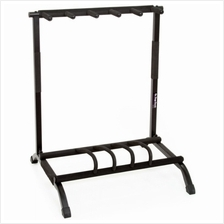 OSSGS7561 5-Space Foldable Multi Guitar Stand Rack
