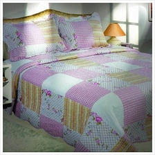 Cadar Patchwork Bedsheet Set For King and Queen Size (282)
