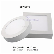 12W 18W 24W Surface Mount LED Ceiling Down Light Panel Lamp