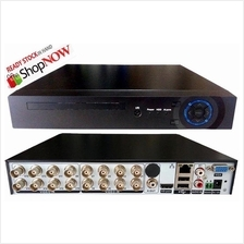 16 Channel H.264 AHD CCTV DVR P2P HD Recorder 16 CH Phone View Ready