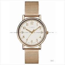 TIMEX T2P463 (W) Originals Classic Round SS meshed bracelet rose gold