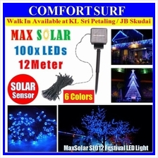 Solar LED String 12m 100 LEDs Festival Party Garden Fairy Lights SL012