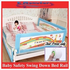 New Design Baby Safety Swing Down Bed Rail / Bed fence