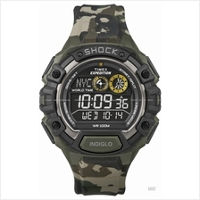 TIMEX T49971 (M) Expedition Global Shock negative resin camouflage