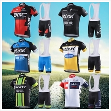 2016 Team pro cycling jerseys BIB set men BMC ETIXX SCOTT IAM Didata