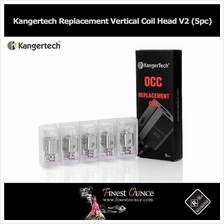 Kangertech Vertical Coil OCC Head V2 (5pc) Subtank Toptank **Genuine