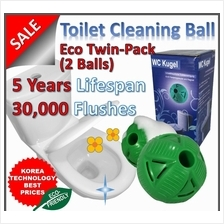 2 Unit Eco-friendly Magic Toilet Tank Clean Ball